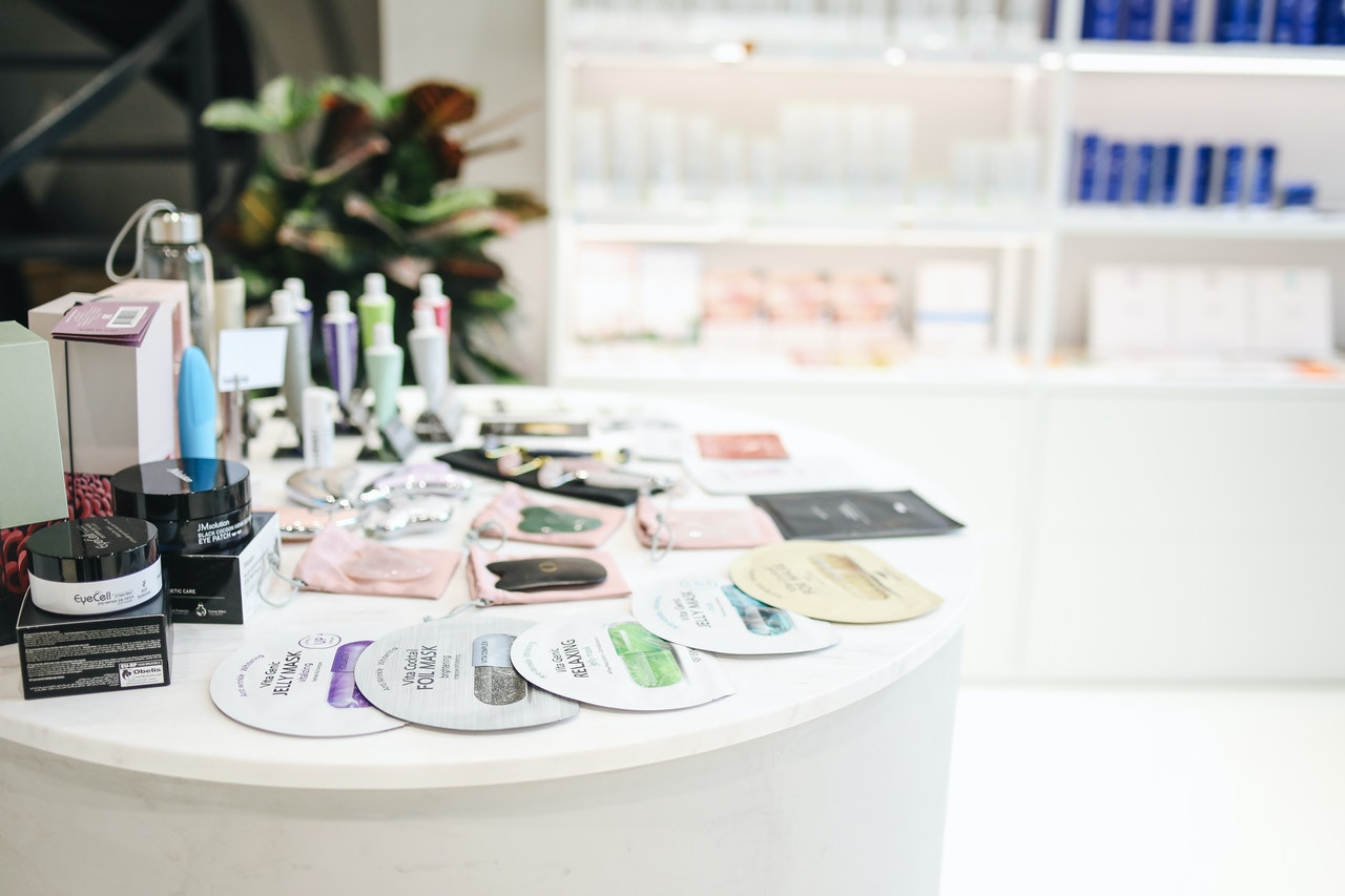 Loja de produtos de beleza