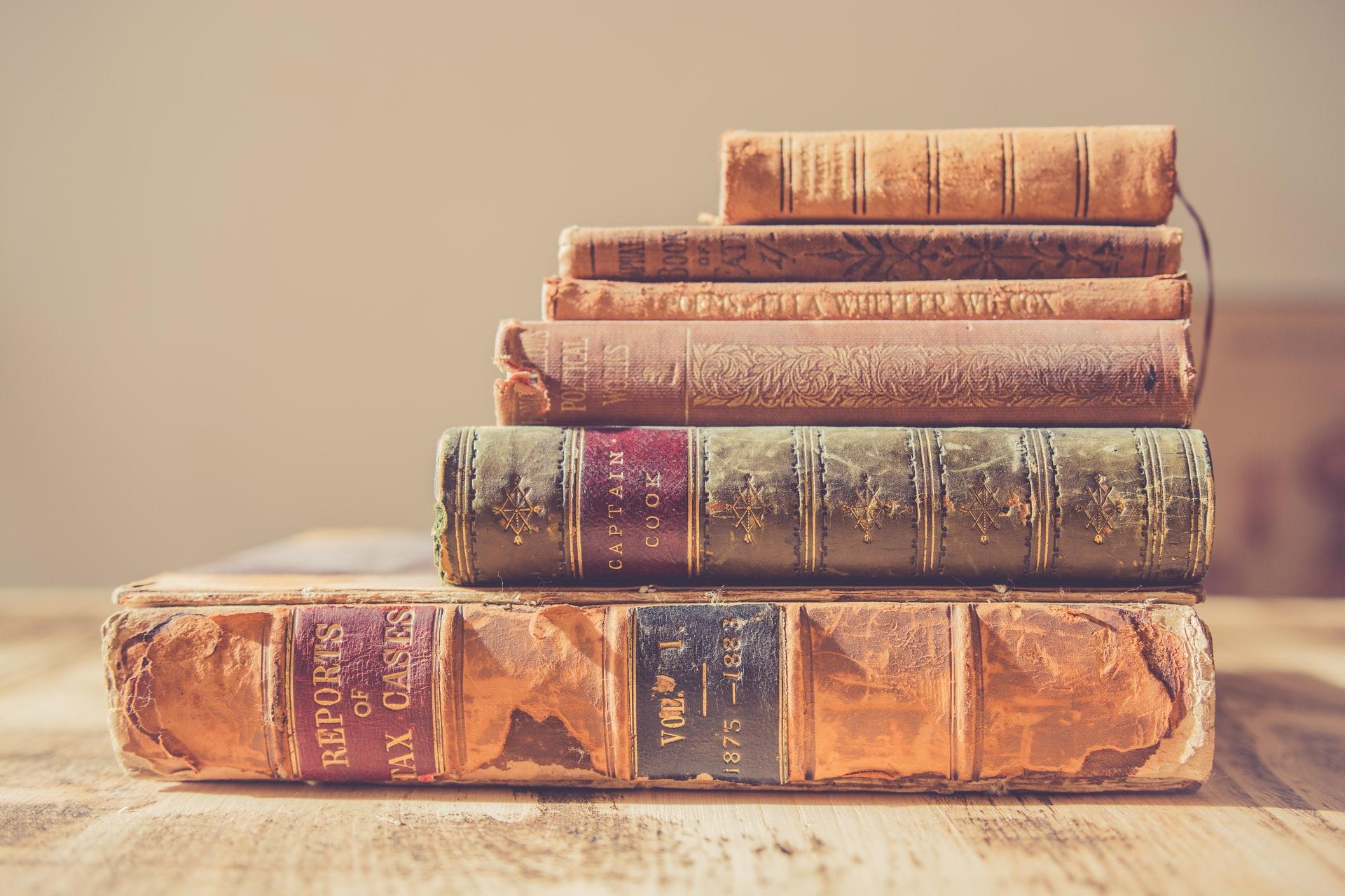 Livros antigos
