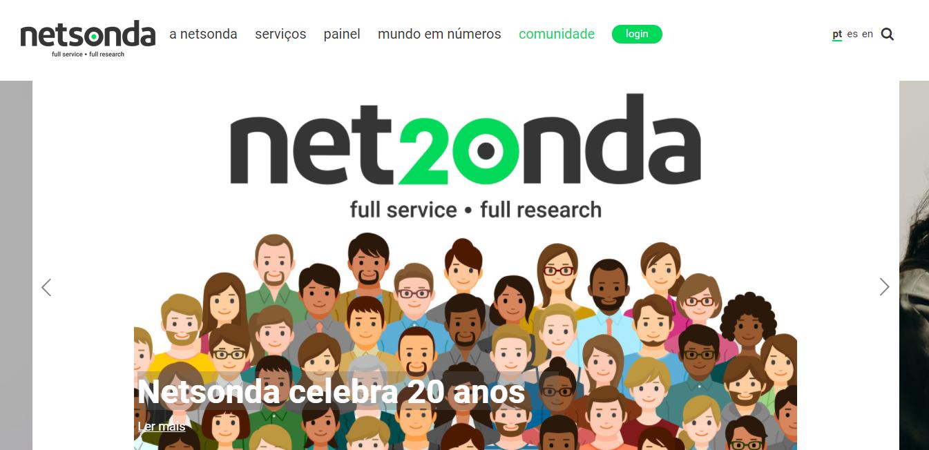 Netsonda - Painel de inquéritos pagos Portugal